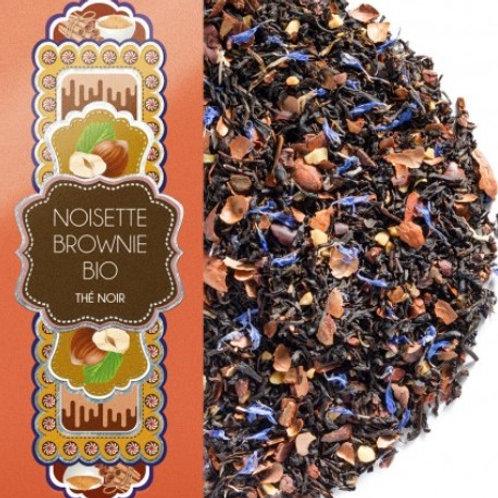 Thé noir - Noisette Brownie Bio