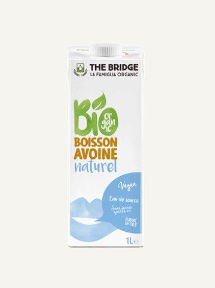 Boisson d'avoine Bio 1L