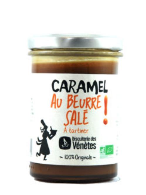 Caramel au beurre salé bio