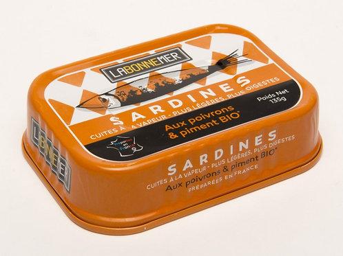 Sardines aux poivrons et piments