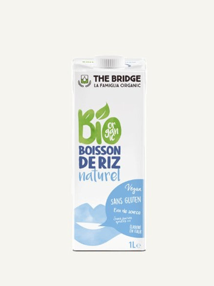 Boisson de riz Bio 1L