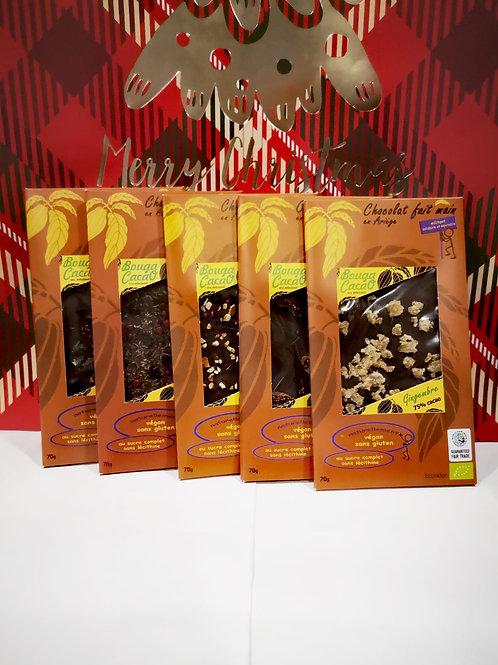 Coffret de chocolats - 5 tablettes