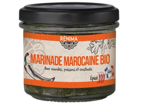 Marinade Marocaine épicée Bio