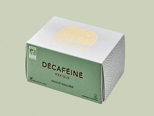 10 capsules décaféinés Bio - Mexique
