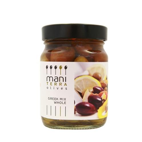 Mixte d'olives noires et vertes bio
