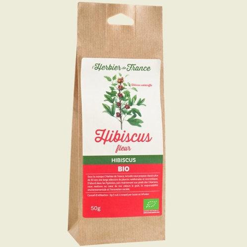 Feuille d'Hibiscus Bio
