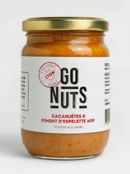 Tartinable cacahuètes & piment d'Espelette Bio