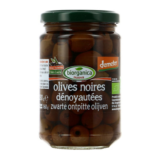 Olive noire dénoyautée