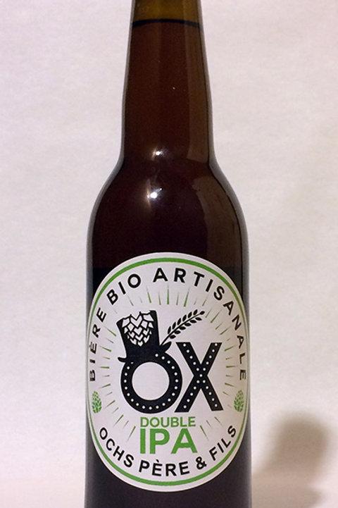Bière IPA Bio - Brasserie OX