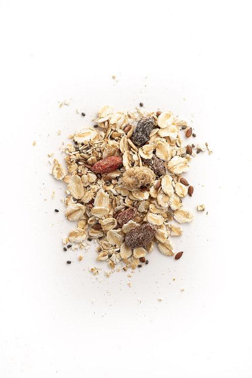 Porridge - Goji, chia et mûre blanche