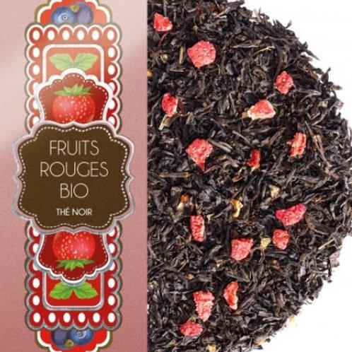 Thé noir - Fruits rouges Bio