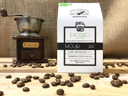 Colombie Excelso Bio Moulu - 250g