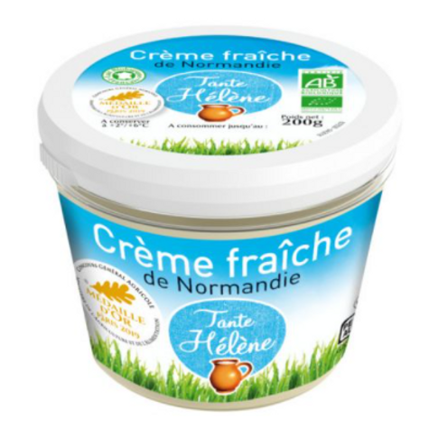 Crème fraîche bio de Normandie