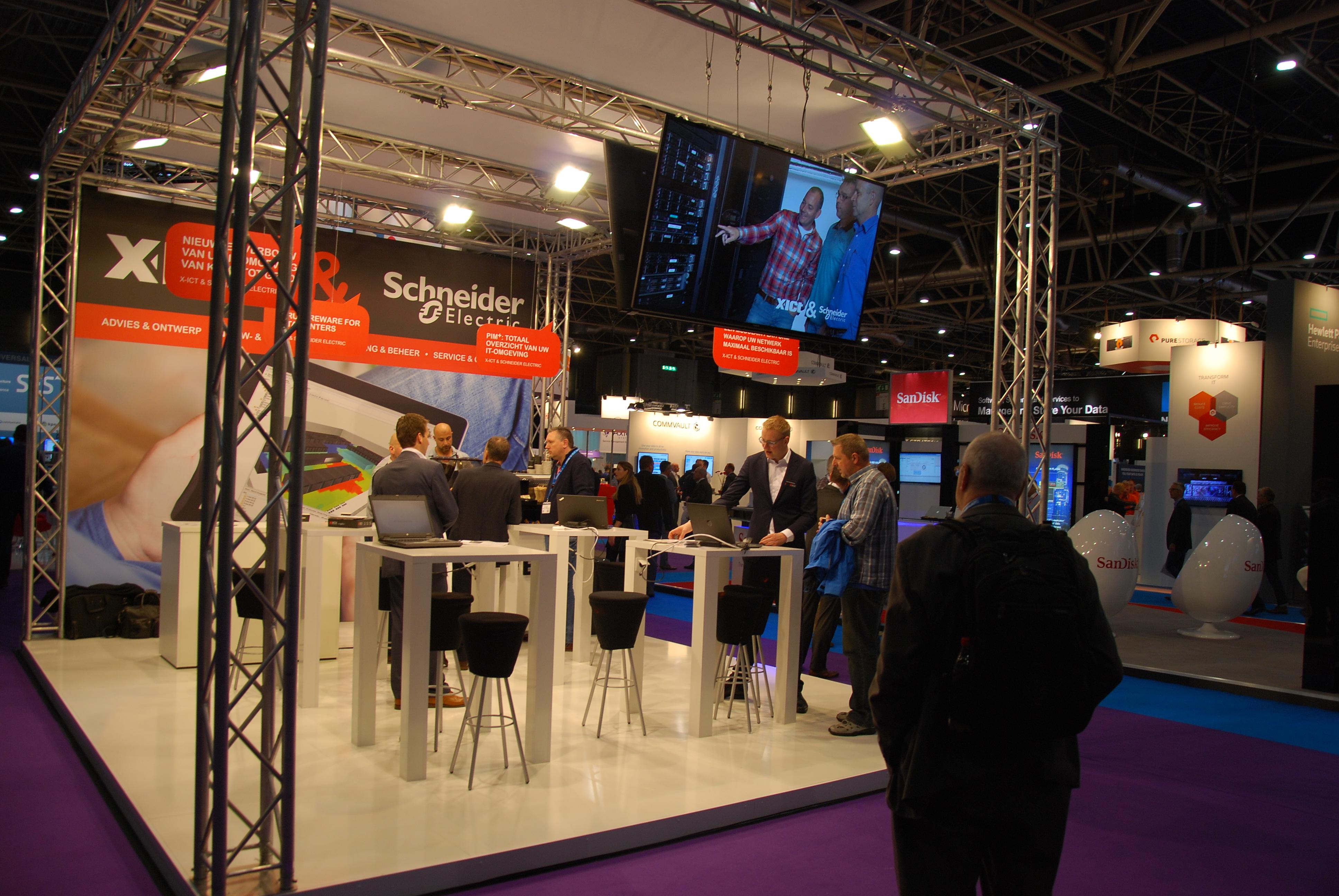 Schneider Electric Storage Expo- Jaarbeurs Utrecht 2015