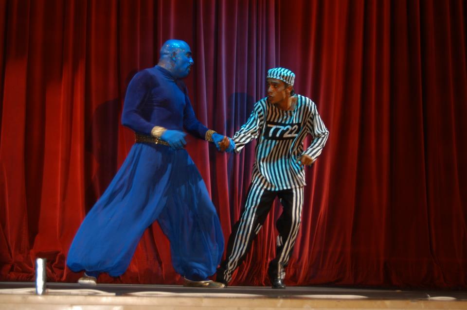 Aladdin-The musical