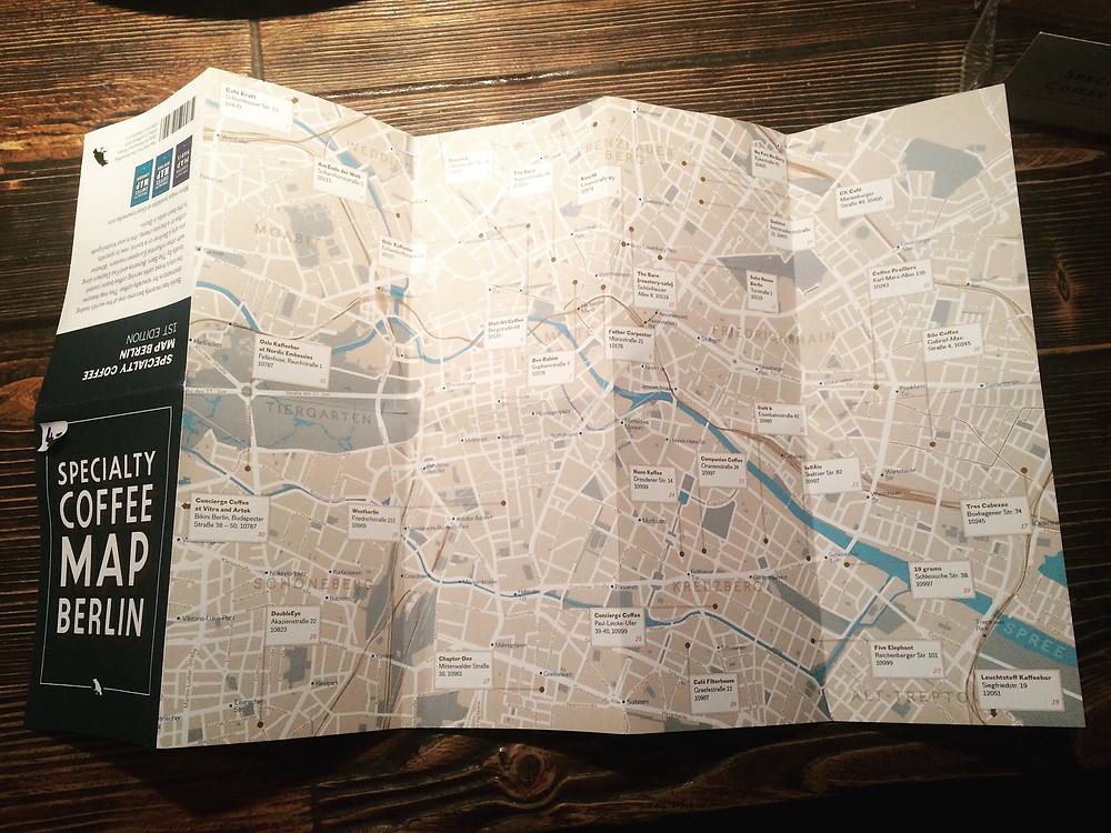 Berlin Specialty Coffee Map