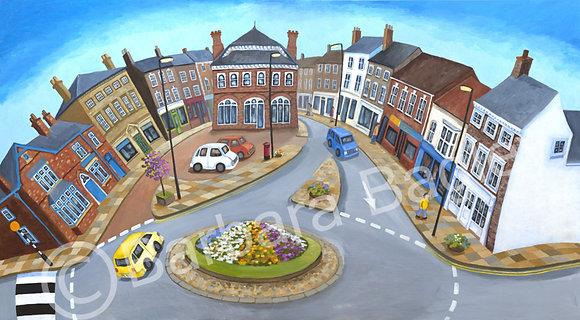Northallerton High Street - limited edition print