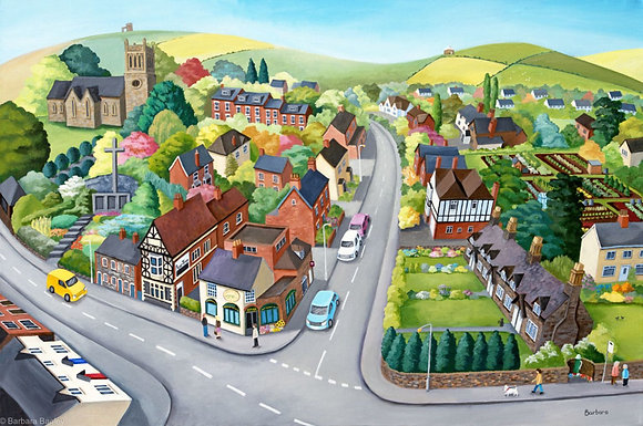 Woodhouse Eaves (Leics) limited edition print