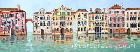 Morning in Venice - limited edition print
