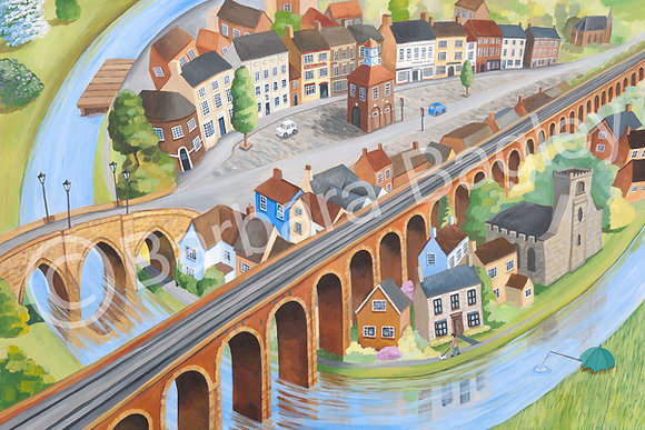 Memories of Yarm - limited edition large & small