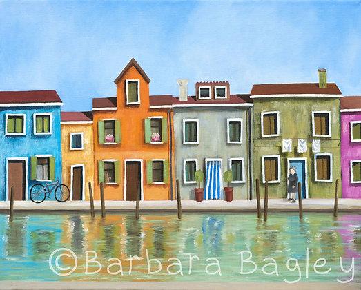 Burano (Venice) - limited edition print