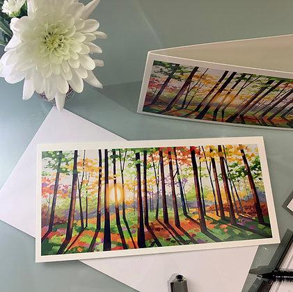 Sunrise card