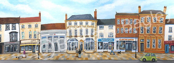 187-195 High Street, Northallerton - large and small prints
