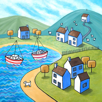 I Do Like to be Beside The Seaside - limited edition print