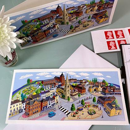 Market Harborough card
