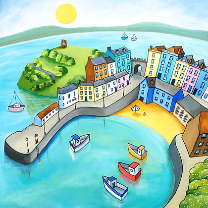 Tenby -  limited edition print