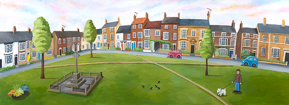 West Green, Stokesley - large & small