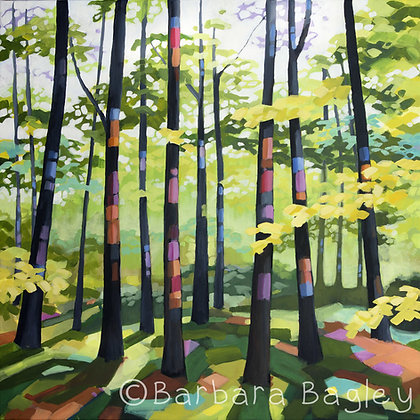 Jubilee Wood - large and small limited edition prints