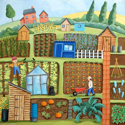 Allotment Life - limited edition print