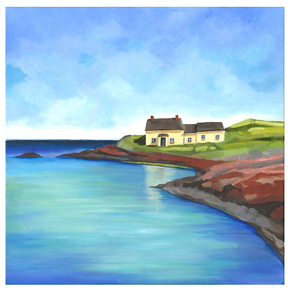 Pembrokeshire Bay - Limited edition print.