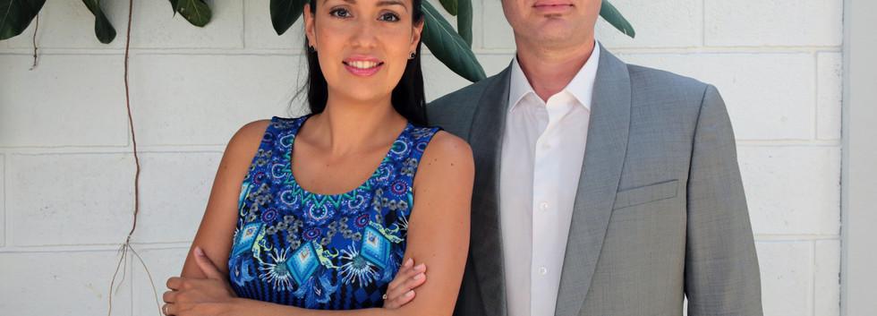 Pierre-Yves Binard et Catalina Skinner