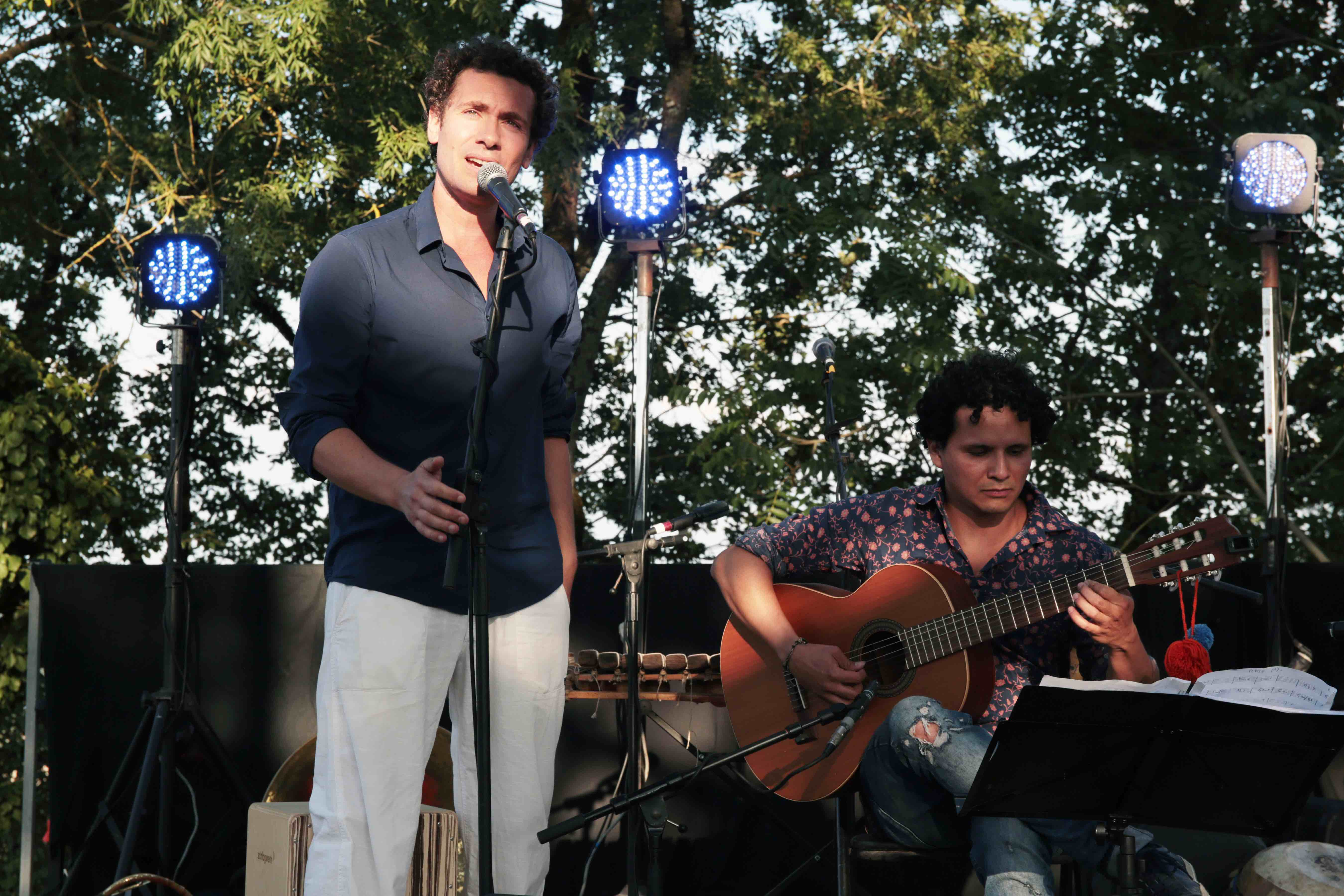 Sergio Laguado & Pierre-Yves Binard