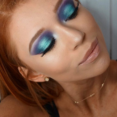 🧜‍♀️ Mermaid Eye Look🧜‍♀️_Tutorial goi