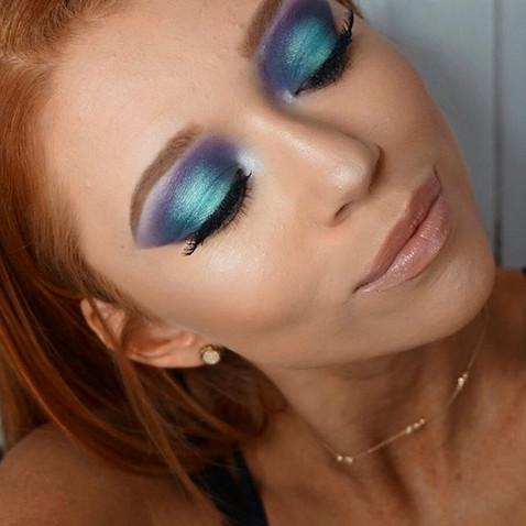 🧜♀️ Mermaid Eye Look🧜♀️_Tutorial goi