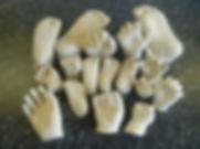 stone plaster casts