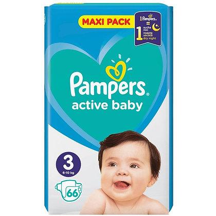 PAMPERS ACTIVE BABY DRY ΜΕΓ 4 1x58 JUMBO