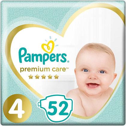 PAMPERS PREMIUM CARE ΜΕΓ 4 1x52 JUMBO
