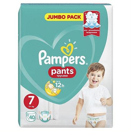 PAMPERS PANTS ΜΕΓ 7 3X40 JUMBO