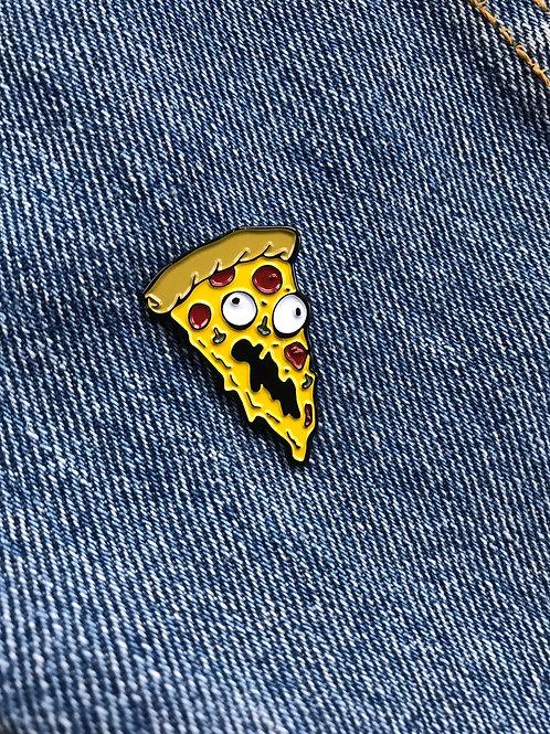 Undead Pizza Enamel Pin