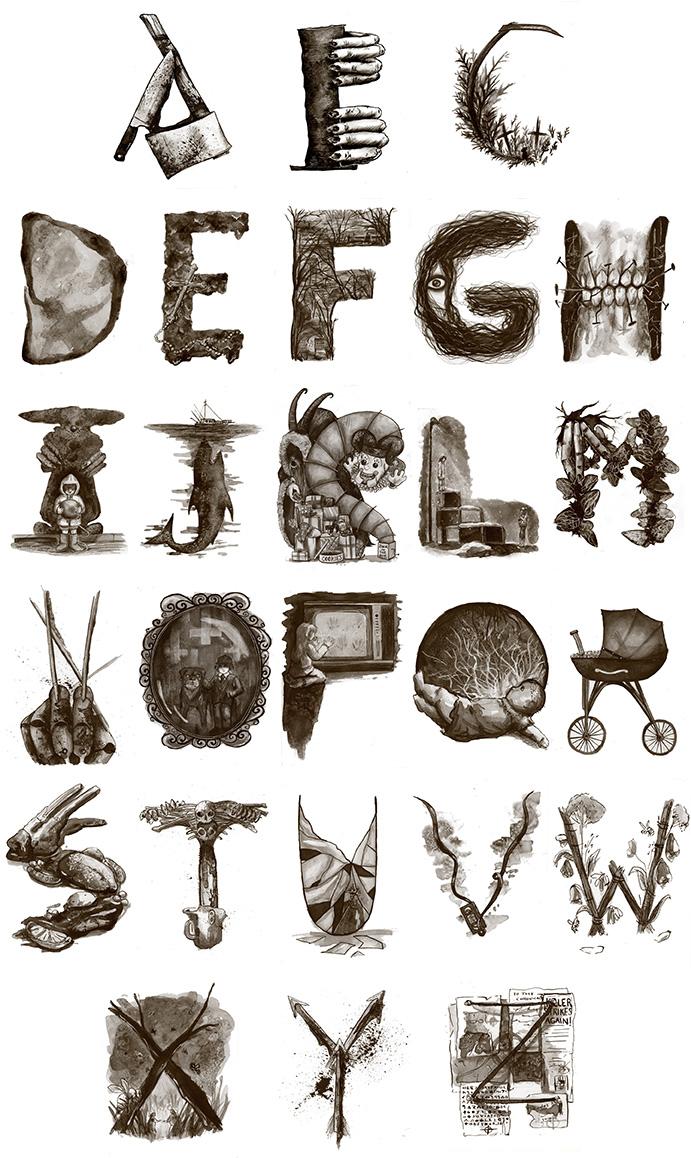 Horror  Movie Alphabet