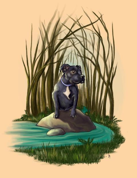 Forest dog collar.jpg