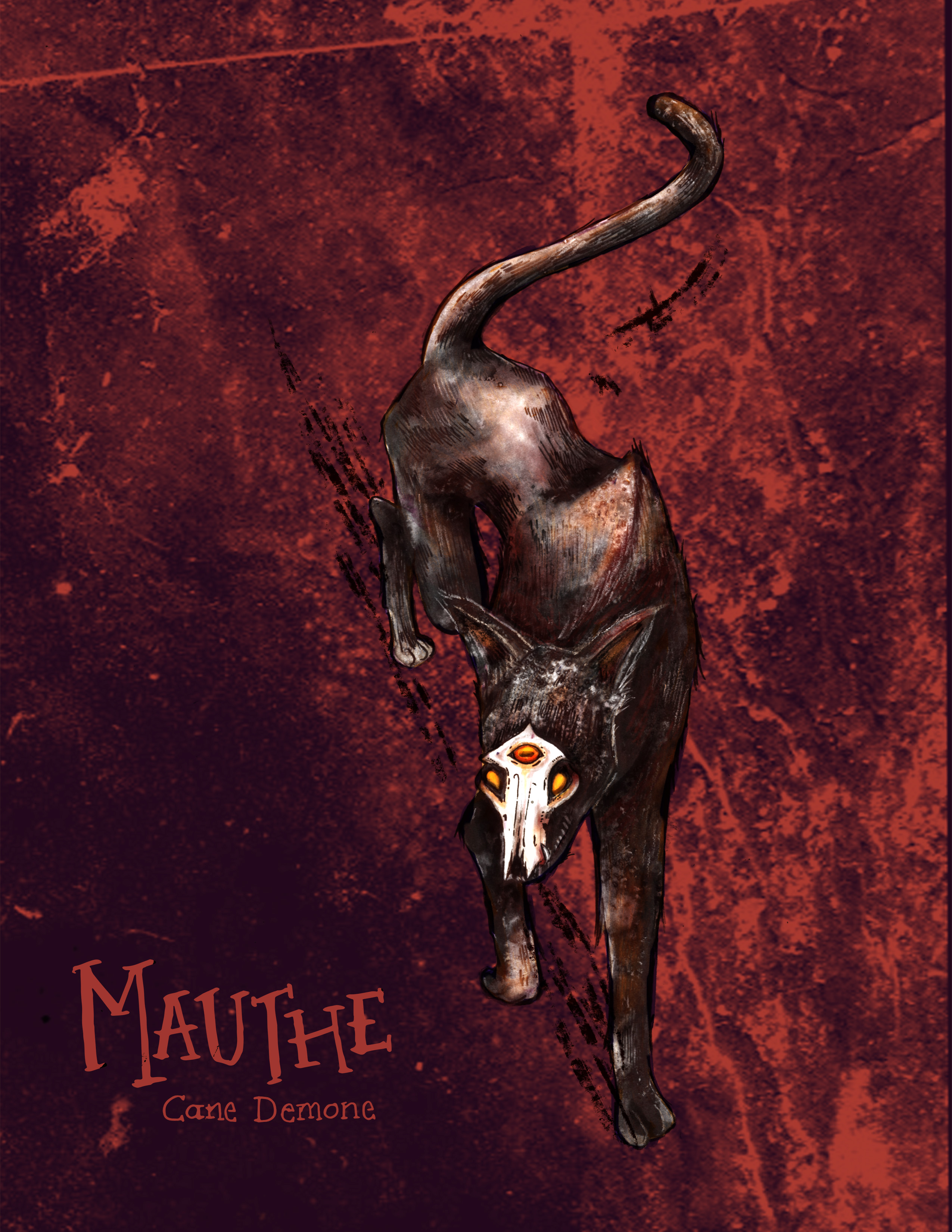 Mauthe the Demon Dog