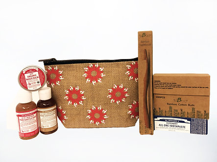 PureAll x Dr. Bronner's Eco-Friendly Personal Care Travel Kit