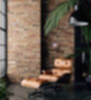 Sunglow actual frame brick wall