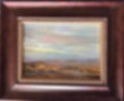 Cottonwoods in the Desert framed Lindy C