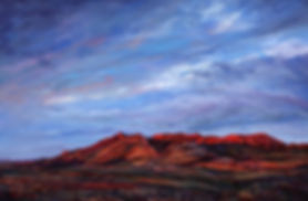 Riding-the-Red-Dawn-22x33-pastel-Lindy-C